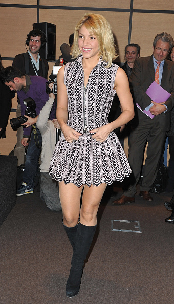 Flared Dress「Celebrities Honored By French Ministry Of Culture - MIDEM 46th Edition」:写真・画像(15)[壁紙.com]