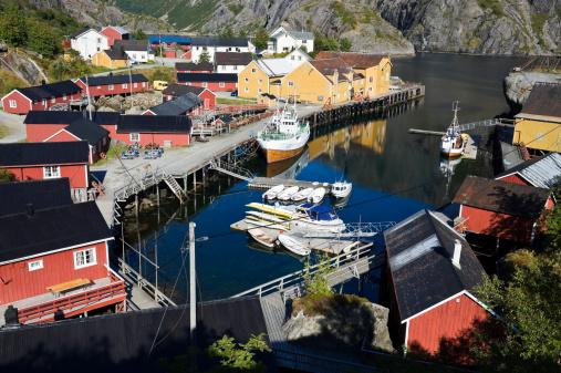 Fishing Village「Nusfjord, Lofoten」:スマホ壁紙(12)
