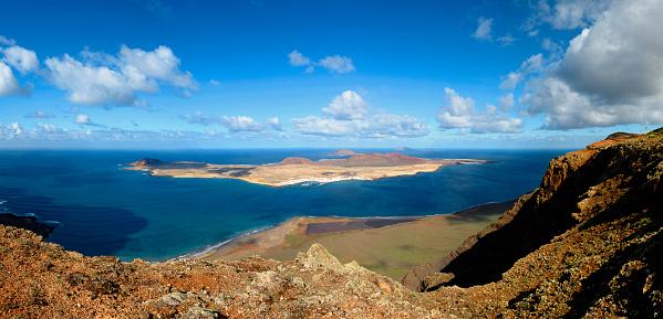 La Graciosa - Canary Islands「Mirador del Rio」:スマホ壁紙(6)