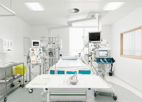 England「Empty Intensive Care Bed in UK Hospital」:スマホ壁紙(18)