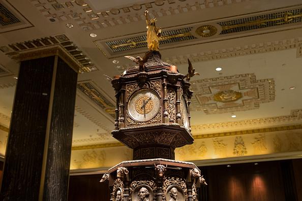アールデコ「Waldorf Astoria Clock」:写真・画像(2)[壁紙.com]