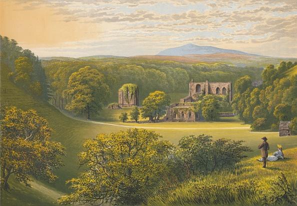 Abbey - Monastery「'Furness Abbey', c1880, (1897)」:写真・画像(12)[壁紙.com]