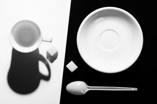 モノクロ「cofee スタイルのセッティング」:スマホ壁紙(1)
