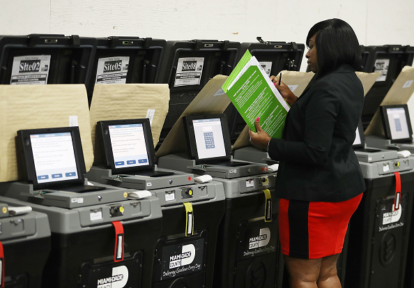 Machinery「Miami-Dade County Elections Department Exams Voting Equipment Ahead Of Upcoming August 28 Primary」:写真・画像(18)[壁紙.com]