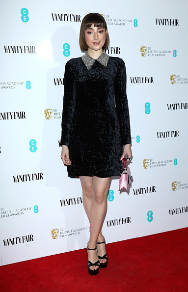 Ankle Strap Shoe「Vanity Fair EE Rising Star Party - Red Carpet Arrivals」:写真・画像(6)[壁紙.com]