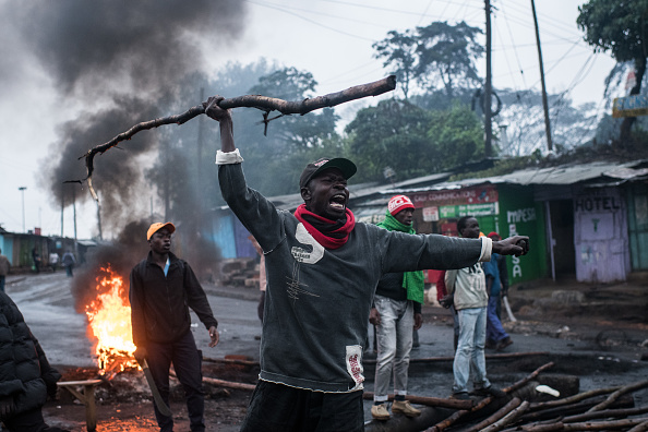 Kenya「Kenya Holds Controversial Rerun General Election」:写真・画像(17)[壁紙.com]