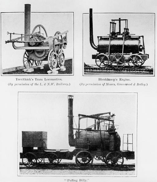 Steam Train「Early Locomotives」:写真・画像(11)[壁紙.com]