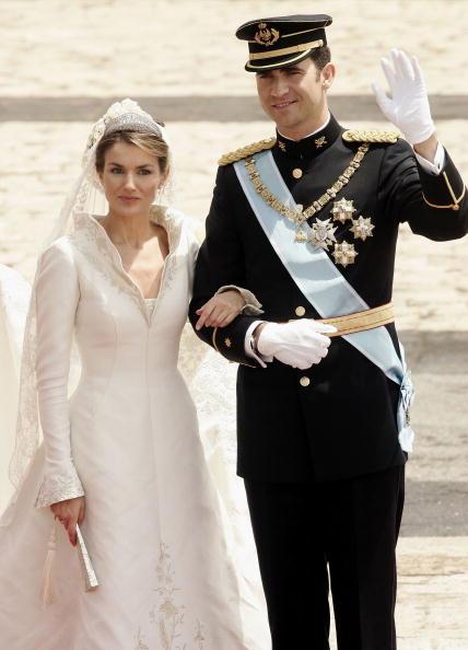 Felipe VI of Spain「Wedding Of Spanish Crown Prince Felipe and Letizia Ortiz」:写真・画像(5)[壁紙.com]