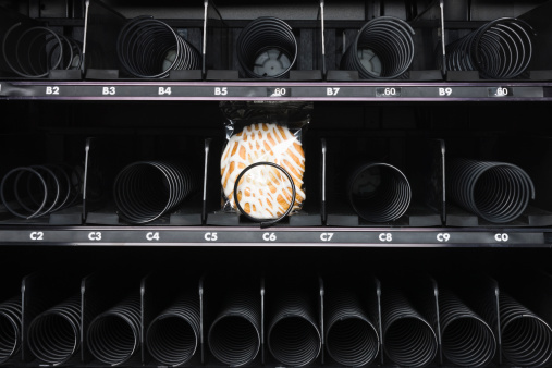 Part of a Series「pastry in a vending machine」:スマホ壁紙(4)