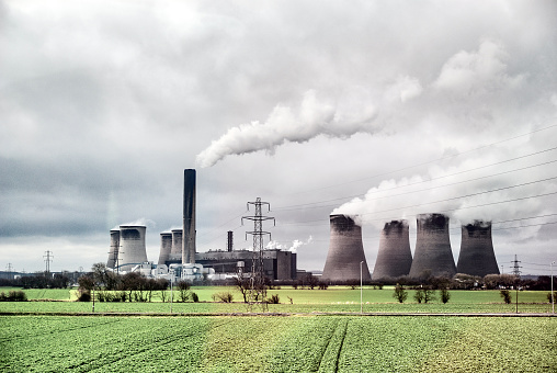 Social Issues「Power plant」:スマホ壁紙(19)