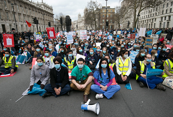 Event「Dame Vivienne Westwood, Vanessa Redgrave CBE Speak At Junior Doctors Protest」:写真・画像(11)[壁紙.com]