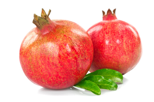 Pomegranate「Pomegranates with Leaves」:スマホ壁紙(13)