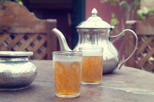 Teapot「Tea time in the garden」:スマホ壁紙(0)