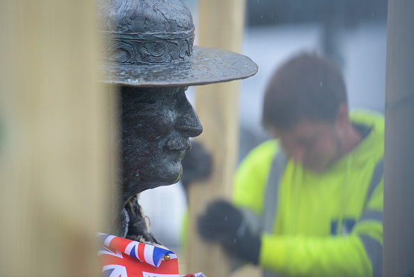 Finnbarr Webster「Baden-Powell Statue Due To Be Removed From Poole Quay」:写真・画像(9)[壁紙.com]
