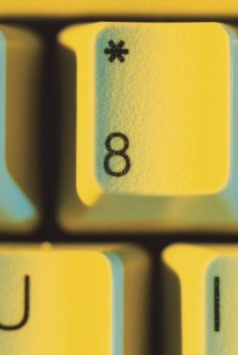 数字の8「Eight key」:スマホ壁紙(13)