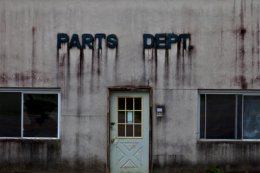 Car Dealership「Abandoned old Parts Department building」:スマホ壁紙(4)