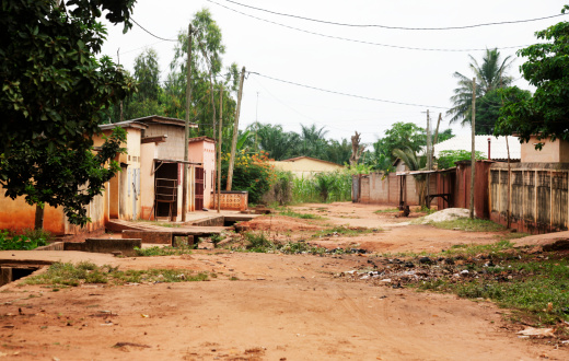 Electricity Pylon「African village. Tsevie, Togo, West  Africa.」:スマホ壁紙(4)