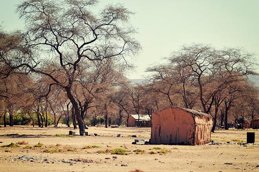 Indigenous Culture「African village near Sesfontein in the Kunene region,Namibia」:スマホ壁紙(6)