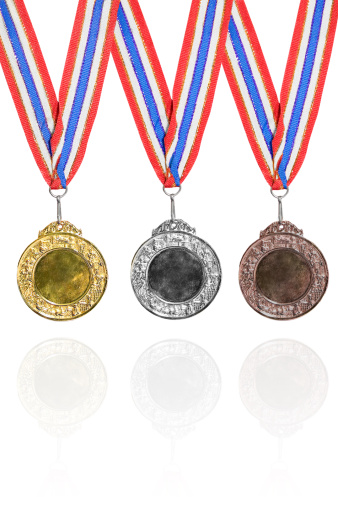 オリンピック「金、銀および銅メダル賞」:スマホ壁紙(6)