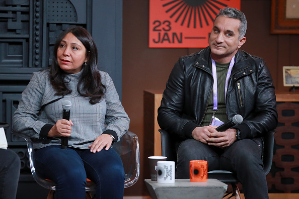 Three Quarter Length「2020 Sundance Film Festival -   Cinema Cafe With Haifaa Al-Mansour And Bassem Youssef」:写真・画像(11)[壁紙.com]