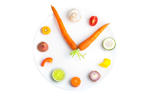 Clock Hand「Time for food - clock made from assorted fruit & vegetables」:スマホ壁紙(7)