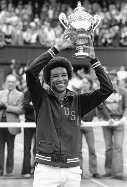 アーサー アッシュ「Wimbledon Lawn Tennis Championship」:写真・画像(4)[壁紙.com]