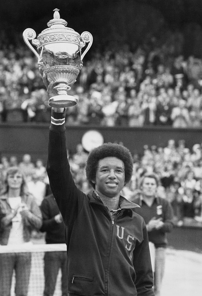 アーサー アッシュ「Wimbledon Lawn Tennis Championship」:写真・画像(19)[壁紙.com]