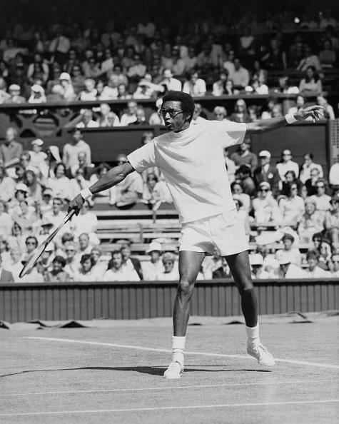 アーサー アッシュ「Wimbledon Lawn Tennis Championship」:写真・画像(13)[壁紙.com]