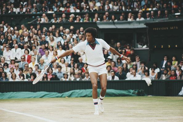 アーサー アッシュ「Wimbledon Lawn Tennis Championship」:写真・画像(10)[壁紙.com]
