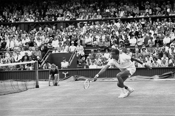 アーサー アッシュ「Wimbledon Lawn Tennis Championship」:写真・画像(15)[壁紙.com]
