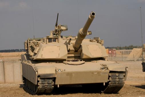 Cavalry「Baqubah, Iraq - M1 Abrams tank at Camp Warhorse.」:スマホ壁紙(5)