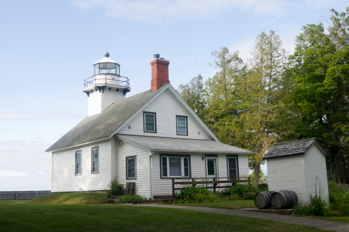 Beacon「Old Mission Point Lighthouse」:スマホ壁紙(15)