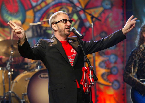One Man Only「Ringo Starr Appears on The Tonight Show with Jay Leno」:写真・画像(9)[壁紙.com]