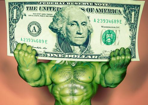 Superhero「Strong Dollar」:スマホ壁紙(15)