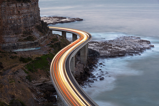 Hairpin Curve「Traffic on Bridge」:スマホ壁紙(9)