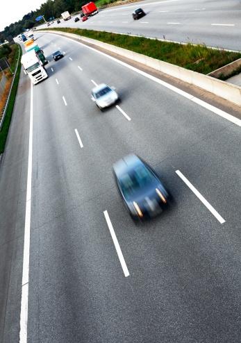 Dividing Line - Road Marking「Traffic on the freeway」:スマホ壁紙(11)