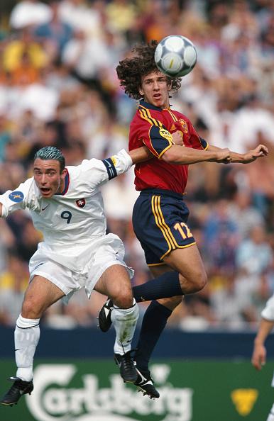 Photography「UEFA European U-21 Championships 2000 Carles Puyol Spain」:写真・画像(4)[壁紙.com]