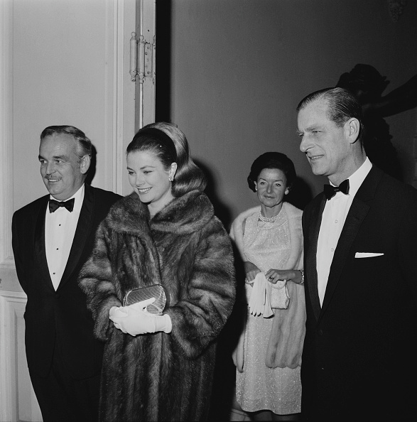 Grace Kelly - Actress「Rainier and Grace with Prince Philip」:写真・画像(16)[壁紙.com]