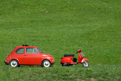 Retro「ビンテージバイク&イタリア車」:スマホ壁紙(16)