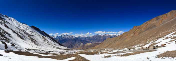 Himalayas「Looking out to Mustang district from Thorung La 」:スマホ壁紙(18)