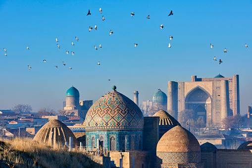 Mausoleum「Uzbekistan, Samarkand, Shah-i-Zinda」:スマホ壁紙(1)
