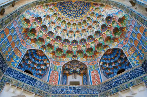 UNESCO「Uzbekistan, Bukhara, Abdul Aziz Khan Madarsah」:スマホ壁紙(18)