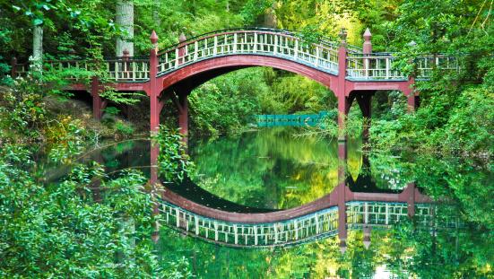 Footbridge「Crim Dell Bridge」:スマホ壁紙(15)