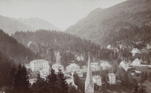 Health Spa「Bad Gastein: View From Schillerhöhe. About 1880. Photograph By Würthle & Spinnhirn / Salzburg. Photograph.」:写真・画像(15)[壁紙.com]