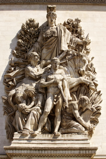 Battle「Relief sculpture on building, Paris」:スマホ壁紙(15)