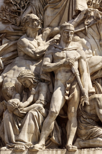 Battle「Relief sculpture on building, Paris」:スマホ壁紙(2)