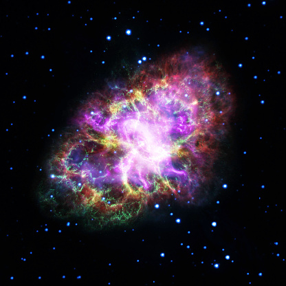 Hubble Space Telescope「Observatories Combine to Crack Open the Crab Nebula」:スマホ壁紙(17)