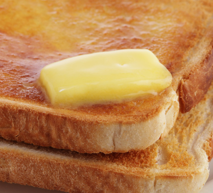Toasted Bread「Butter melting on hot toast」:スマホ壁紙(14)