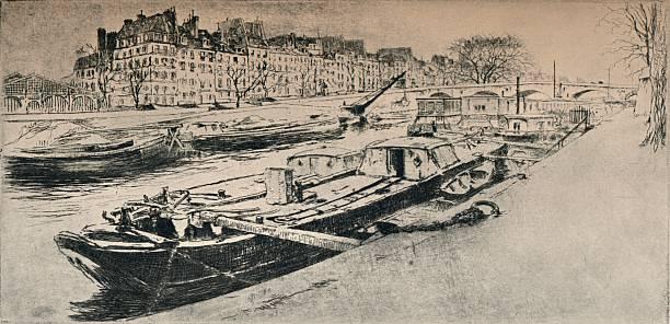 'Quai des Celestins', 1915:ニュース(壁紙.com)