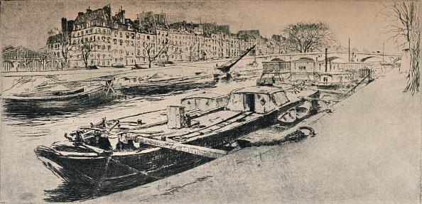Water's Edge「'Quai des Celestins', 1915」:写真・画像(12)[壁紙.com]